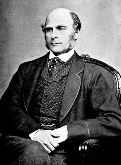 Francis Galton 1850